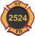 Custom Firefighter Laser Die Cut
