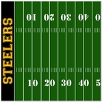 Custom Football Field Left 12 x 12 Paper