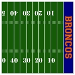 Custom Football Field Right 12 x 12 Paper
