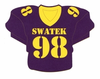 Custom Football Jersey Laser Die Cut