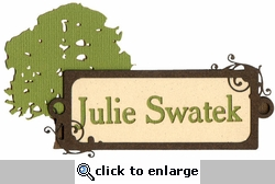 Custom Heritage Name Plaque Laser Die Cut