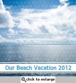 Custom Ocean View 12 x 12 Paper-<font color=red> <b>we &hearts; this</b></font>