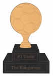 Custom Soccer Trophy Laser Die Cut