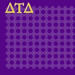 Custom Sorority / Fraternity Pattern Left 12 x 12 Paper