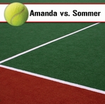 Custom Tennis Court 12 x 12 Paper