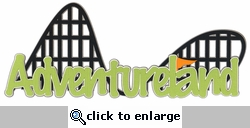 Custom Theme Park Border Laser Die Cut