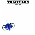 Custom Triathlon 12 x 12 Paper