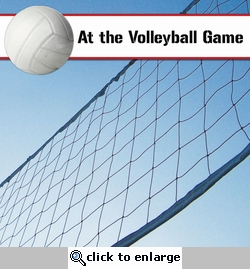 Custom Volleyball Net 12 x 12 Paper