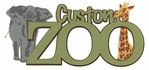 Custom Zoo Laser Title Cut