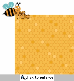 Cute Bugs: Bee Mine 2 Piece Laser Die Cut Kit