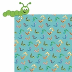 Cute Bugs: Caterpillar 2 Piece Laser Die Cut Kit