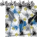 Cycling: Bike Border 2 Piece Laser Die Cut Kit