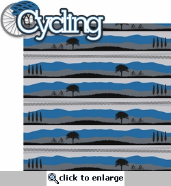 Cycling: Cycling 2 Piece Laser Die Cut Kit