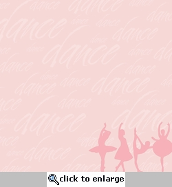 Dance: Ballet 12 x 12 Double-Sided Paper