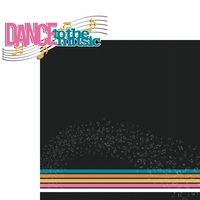 Dance: Dance to the music 2 Piece Laser Die Cut Kit