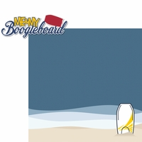 Day At The Beach: Boogieboard 2 Piece Laser Die Cut Kit