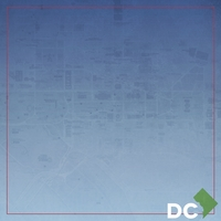 DC Travels: DC map 12 x 12 Paper