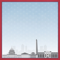DC Travels: DC Touring 12 x 12 Paper