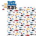 Deep Sea Fishing: Reel it in! 2 Piece Laser Die Cut Kit