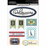 Delaware Journal - Dimensional Sticker