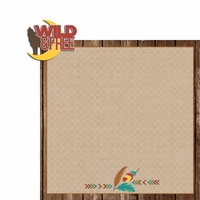 Desert Spirit: Wild and Free 2 Piece Laser Die Cut Kit