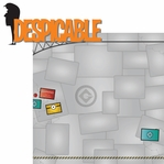 Despicable: Despicable 2 Piece Laser Die Cut Kit