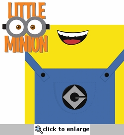 Despicable: Little Minion 2 Piece Laser Die Cut Kit