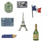 Destination France Buttons