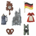 Destination Germany Buttons