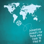 Destinations: Adventure Awaits 12 x 12 Paper