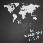 Destinations: Go Where The Fun Is 12 x 12 Paper