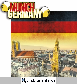 Deutschland: Munich 2 Piece Laser Die Cut Kit