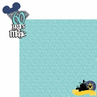 Diamond Celebration: 60 years 2 Piece Laser Die Cut Kit