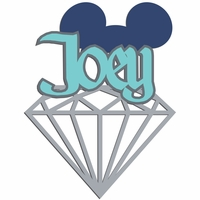 Diamond Celebration: Custom Boy Diamond Laser Die Cut