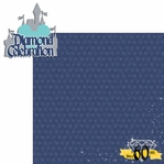 Diamond Celebration: Diamond Celebration 2 Piece Laser Die Cut Kit