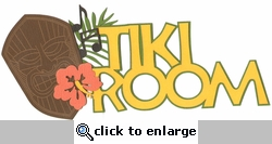 Digital Download: Adventure Land: Tiki Room Laser Die Cut