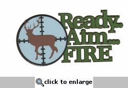 Digital Download: Aim Fire Laser Title Cut