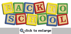 Digital Download: Back to School Laser Title Cut