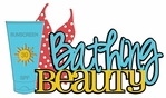 Digital Download: Bathing Beauty Laser Die Cut
