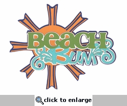 Digital Download: Beach Bum Laser Die Cut