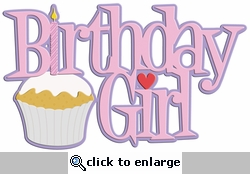 Digital Download: Birthday Girl Laser Die Cut