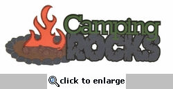 Digital Download: Camping Rocks Laser Die Cut