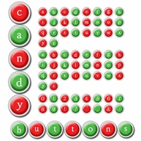 Digital Download: Candy Buttons Alpha Set
