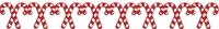 Digital Download: Candy Cane Border Laser Die Cut