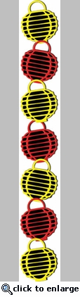 Digital Download: Chinese Lantern Border Laser Die Cut