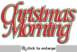 Digital Download: Christmas Morning Laser Title Cut