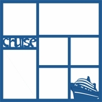 Digital Download: Cruise Photo Overlay Laser Die Cut