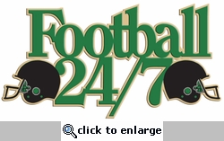 Digital Download: Football 24/7 Laser Die Cut
