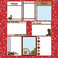 Digital Download: Frontier Land: 12 x 12 Journaling Cards