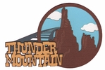 Digital Download: Frontier Land: Thunder Mountain Laser Die Cut